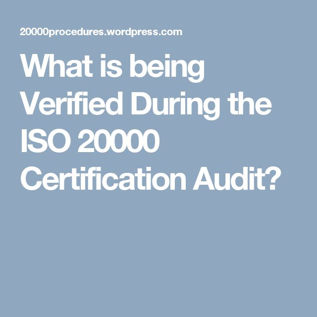 Mejores 15 imgenes de iso 50001 certification en pinterest what is being verified during the iso 20000 certification audit fandeluxe Gallery