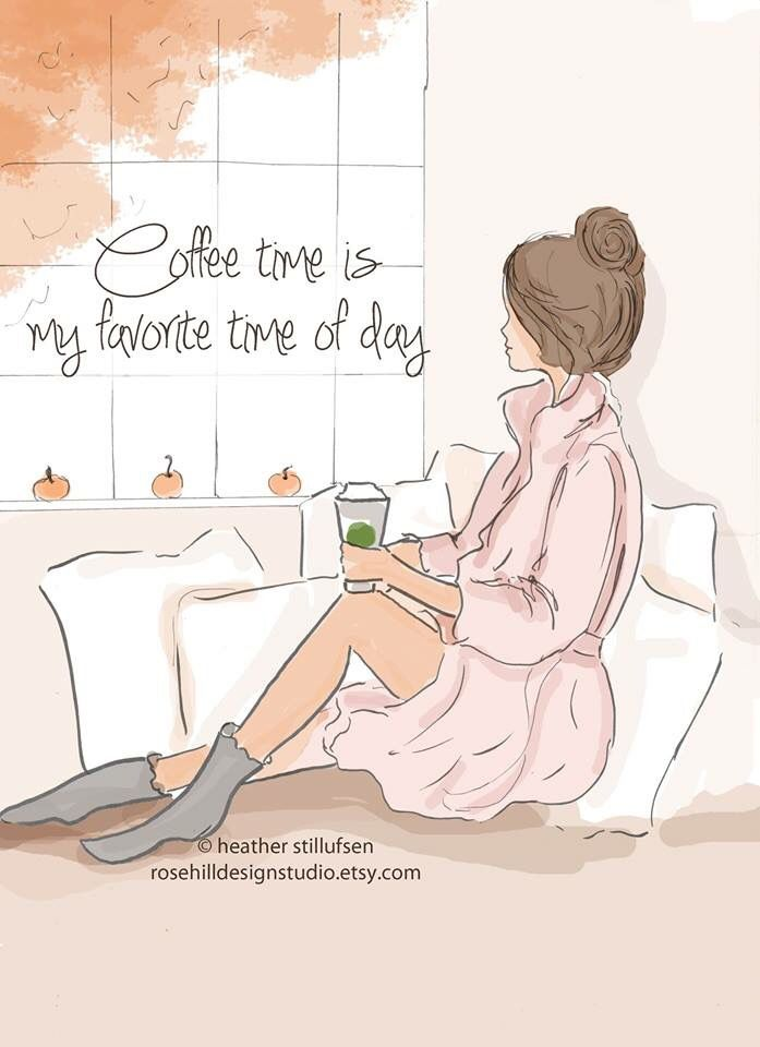 ♡ Coffee Time is my favorite time of day ♡ I can stop for a while and enjoy the moment........