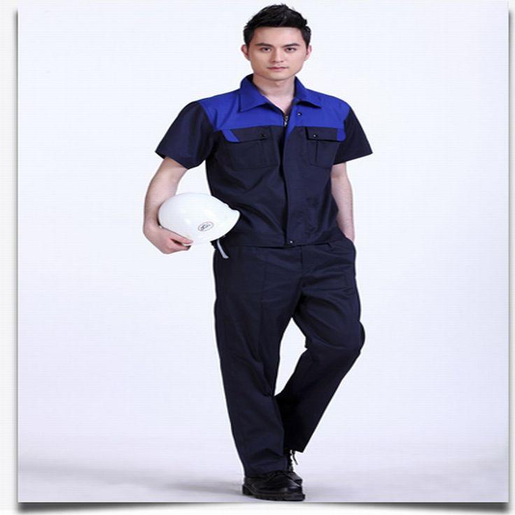 Summer short-sleeve work wear set male short-sleeve work wear work wear summer workwear male work wear