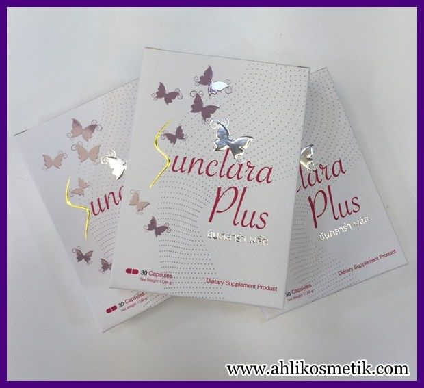 Sunclara Plus Suplemen Pemutih ARTIS Indonesia