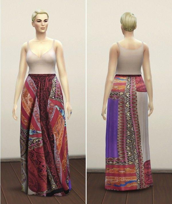 Sims 4 long dress cc 400 headset