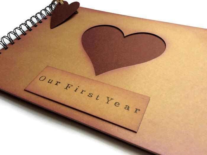 First year together / first anniversary scrapbook / our first year journal / our first year scrapbook / one year anniversary gift for her by Thecraftbus on Etsy https://www.etsy.com/listing/464259436/first-year-together-first-anniversary