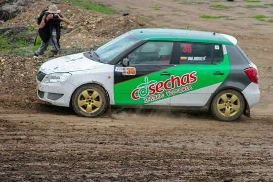 My Skoda Fabia Rallycross