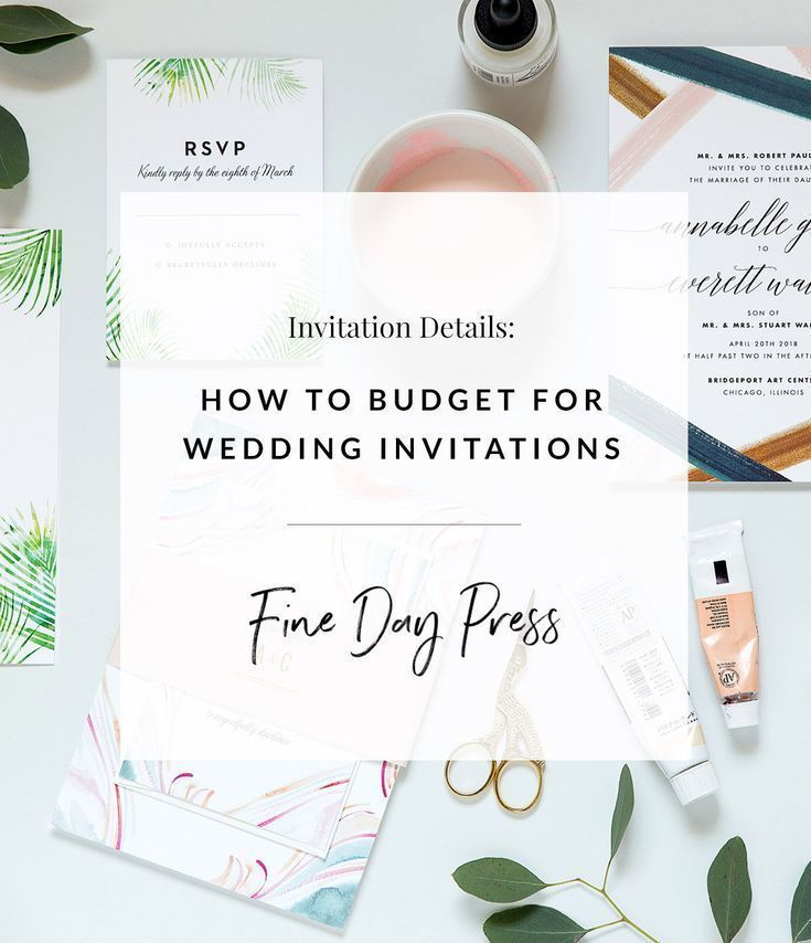 How To Budget For Wedding Invitations Fine Day Press In 2020 Wedding Invitations Cheap Wedding Invitations Order Wedding Invitations