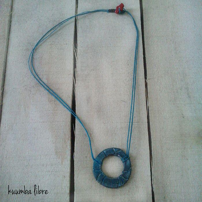handmade ceramic necklace