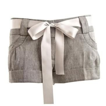 bow shorts!