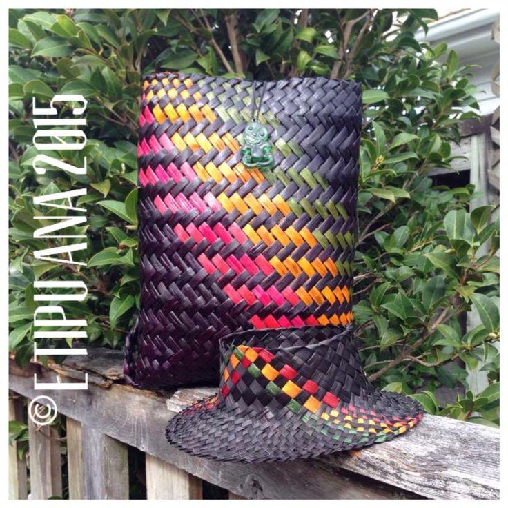 #etipuana_combo  E Tipu Ana standard rasta combo  Pikau and Potae - backpack and hat