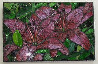 Lilies 2   by mosaicdownunder/ Inge