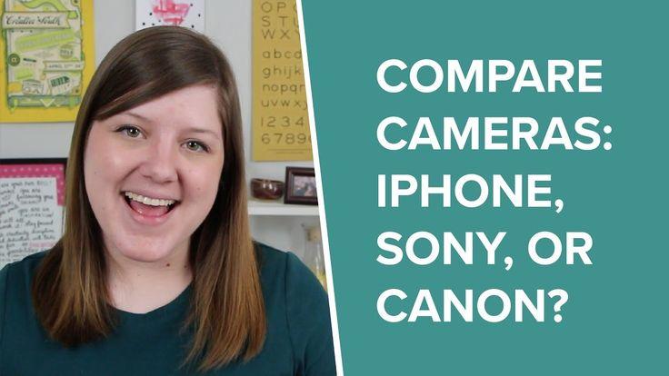 Video Camera Comparison: iPhone vs. Sony Handycam vs. Canon T4i