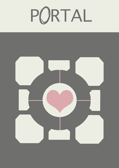 Minimalist Video Game Posters