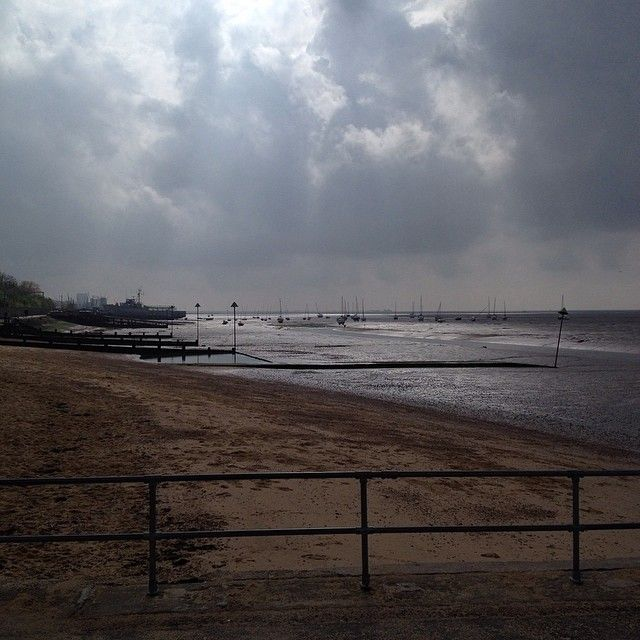 view from Bell Wharf #leighonsea #essex