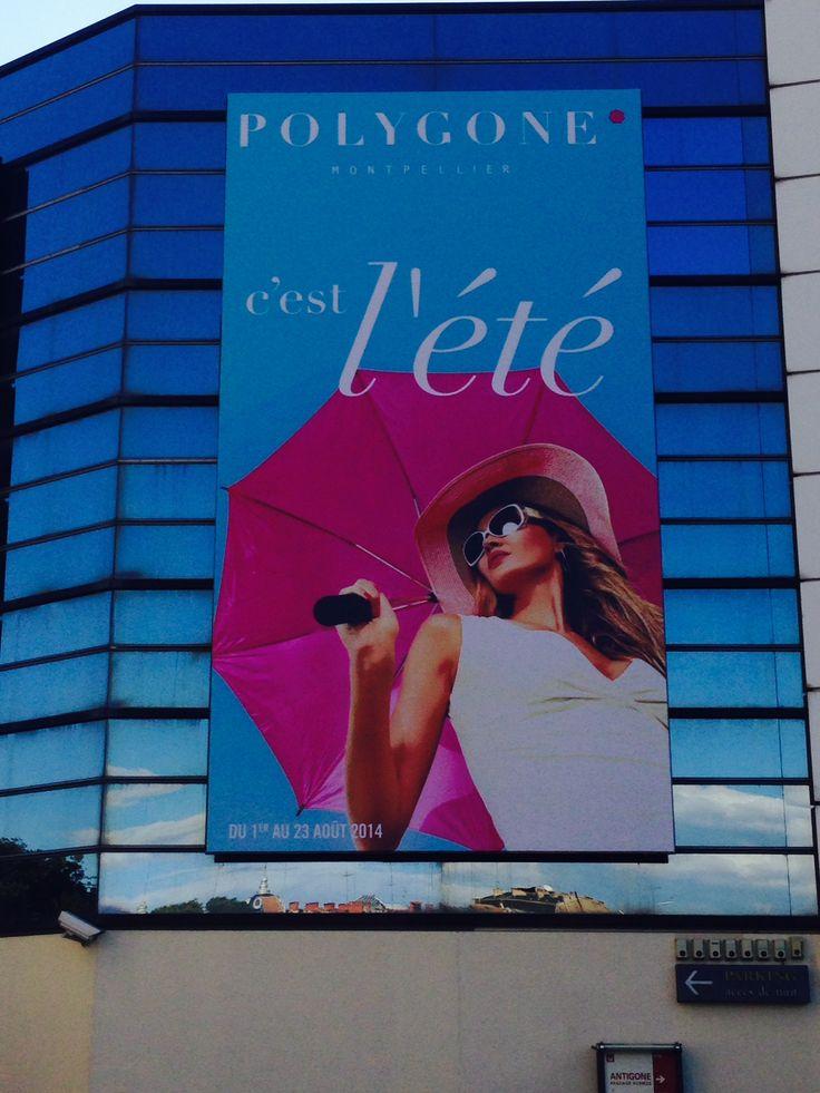 C'est l'été au Polygone Montpellier ! #polygonemtp