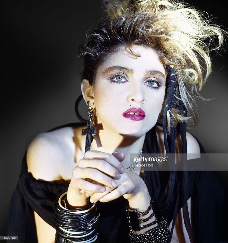 News Photo : Singer Madonna is photographed in 1983 in Los...