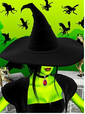 I used to make Myspace graphics. I have over 70GB of useless pictures organized in folders OCD style. Here are some of the highlights from my Witchy folder . Happy Halloween!