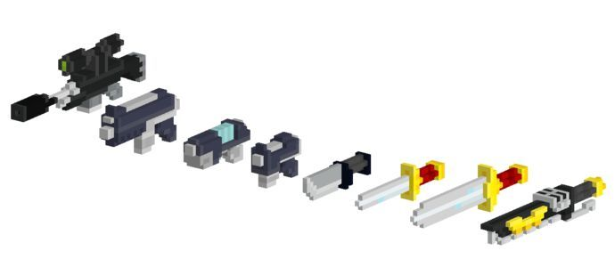 Voxel Weapons