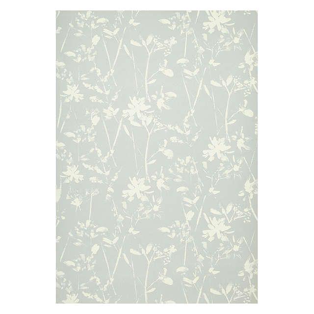 BuyJohn Lewis Croft Collection Freya Wallpaper, Blue Grey Online at johnlewis.com