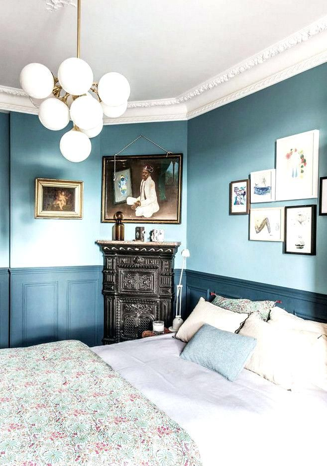 Two Color Painted Walls Interesting Dining Room Two Tone Paint Ideas And Best Two Toned Walls Ideas On Home De Blue Bedroom Walls Home Decor Bedroom Blue Rooms