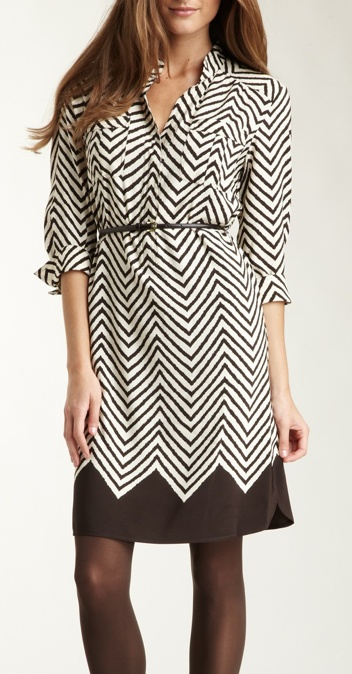Love this chevron dress!  Ready for Spring!