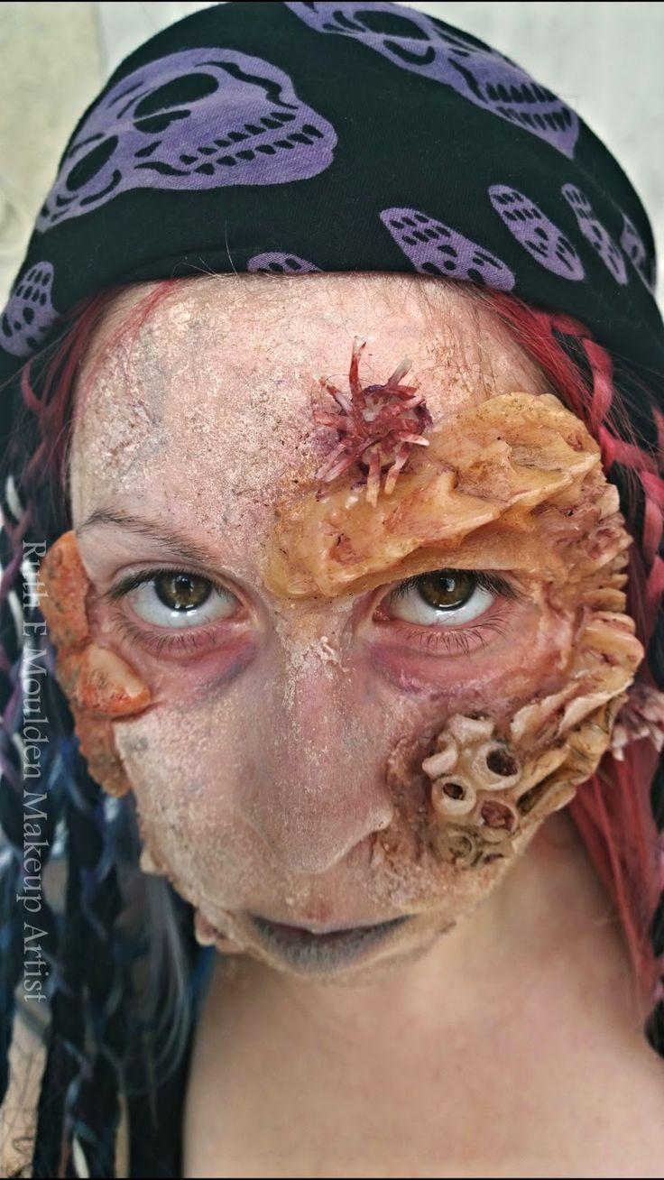 Ruth e moulden mua pirates of the caribbean makeup tutorial