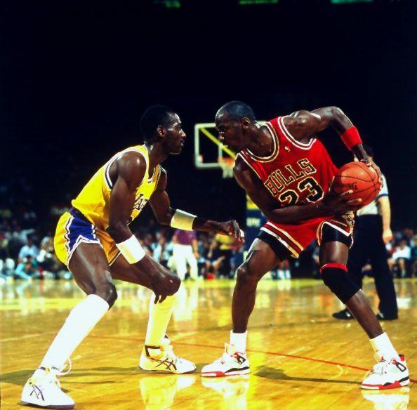 "Flashback // Michael Jordan in the Air Jordan IV ""Fire Red"""
