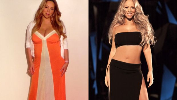 Mariah Carey is currently the spokesperson for Jenny Craig.