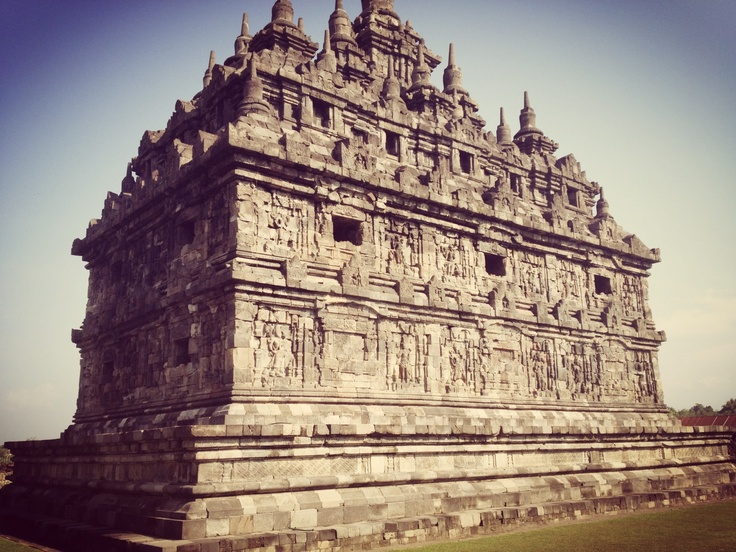 Plaosan Temple in Central Java...finesse!