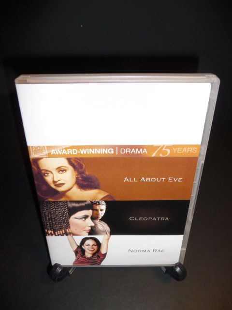 All About Eve/Cleopatra/Norma Rae  (DVD, 2010, 4-Disc Set, Fox 75th Anniversary)