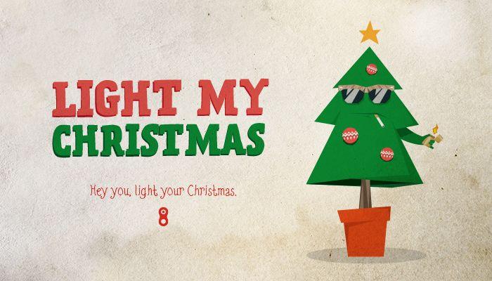 #Christmas #cards #2013 #Design #Graphic #christmaslights #christmastree #happychristmas