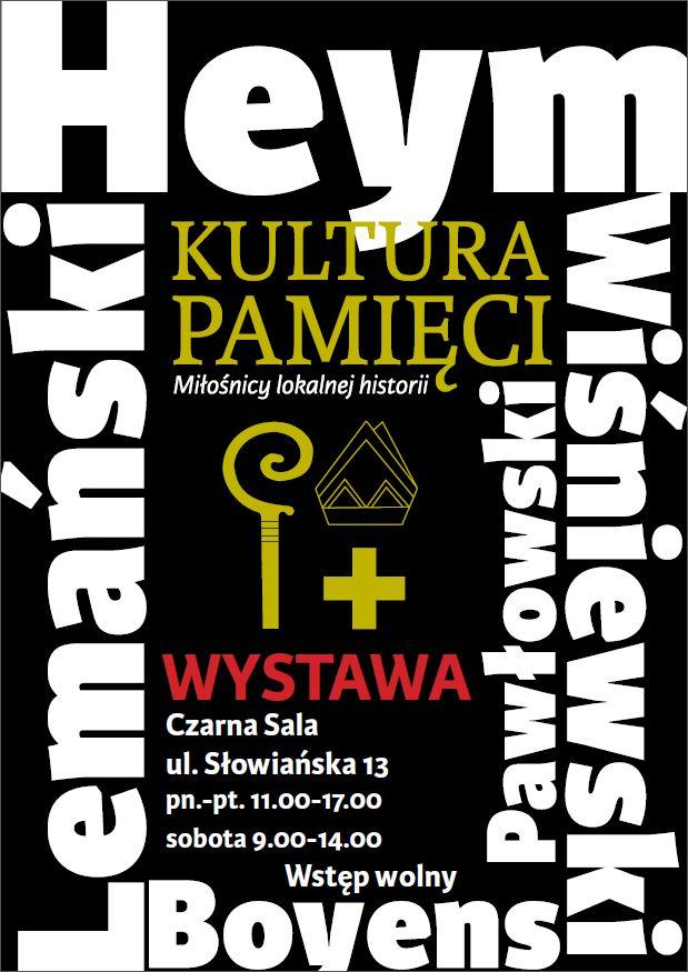 """Wystawa """"Kultura pamięci"""""""