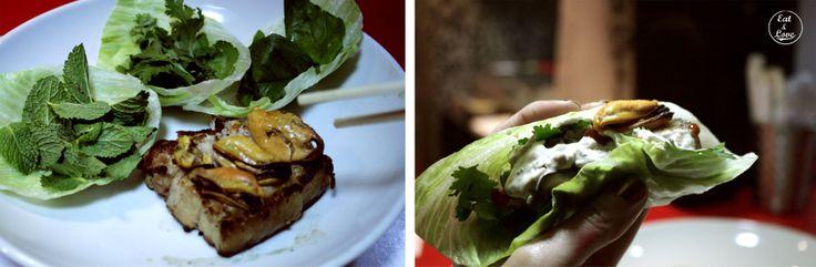 Panceta de cerdo ibérico con mejillón escabechado - Streetxo, restaurante, street food Madrid