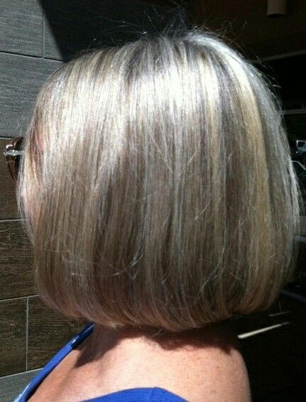 17 Best Images About Gray Hair With Hilites On Pinterest
