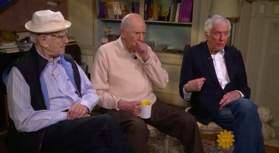 Norman Lear, Dick Van Dyke and Carl Reiner, explain why life begins at age 90, and what really matters to them, to 'CBS: This Morning's' Rita Braver