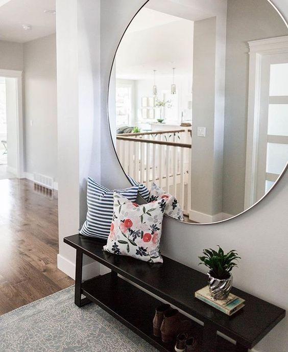 Espejos grandes para decorar el recibidor recepci n for Espejos grandes para recibidor