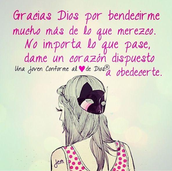 Gracias Dios =)