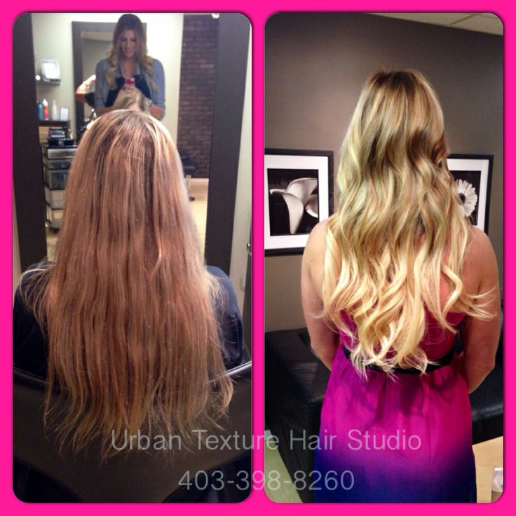11 best hair extensions hot heads images on pinterest blondes we gave her a beautiful new balayage and 18 20 hair extensions to pmusecretfo Gallery