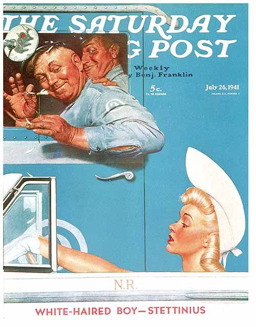58 best Norman Rockwell images on Pinterest   Norman rockwell ...