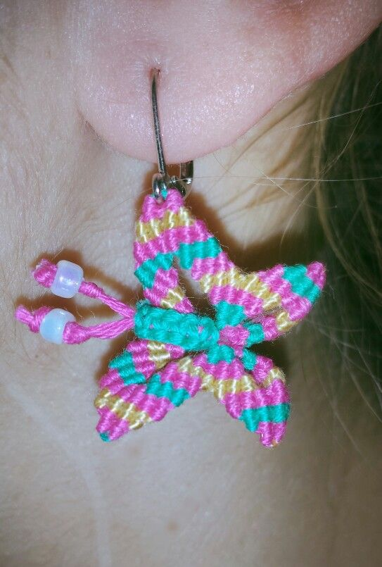 Iliada's sweet whispers- butterfly earrings