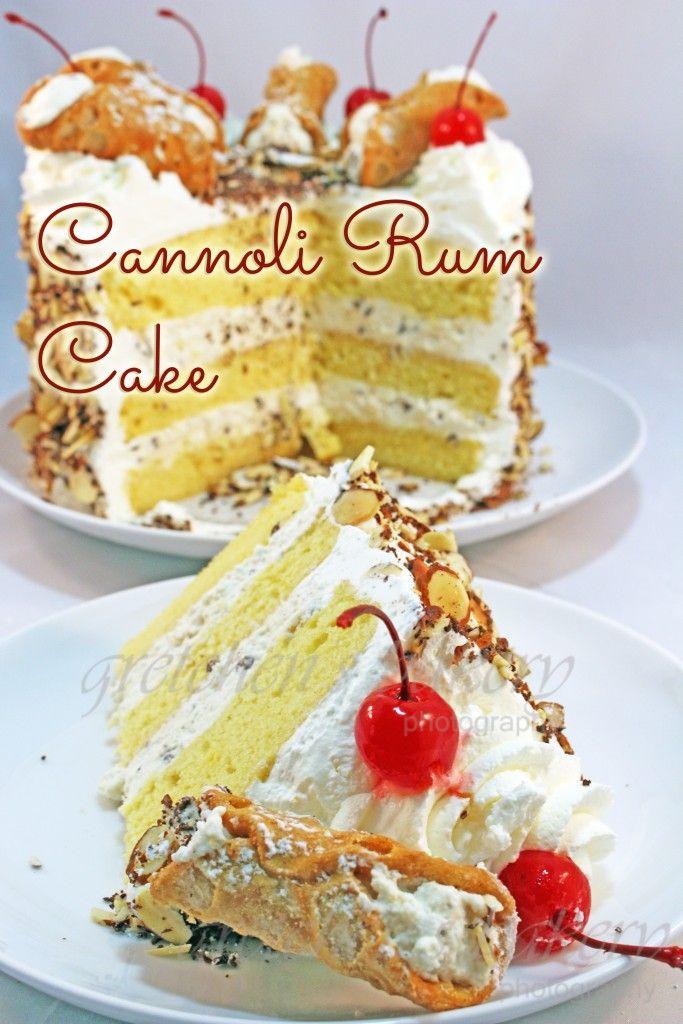 Italian Cannoli Cream Cake | Gretchen's Bakery.com