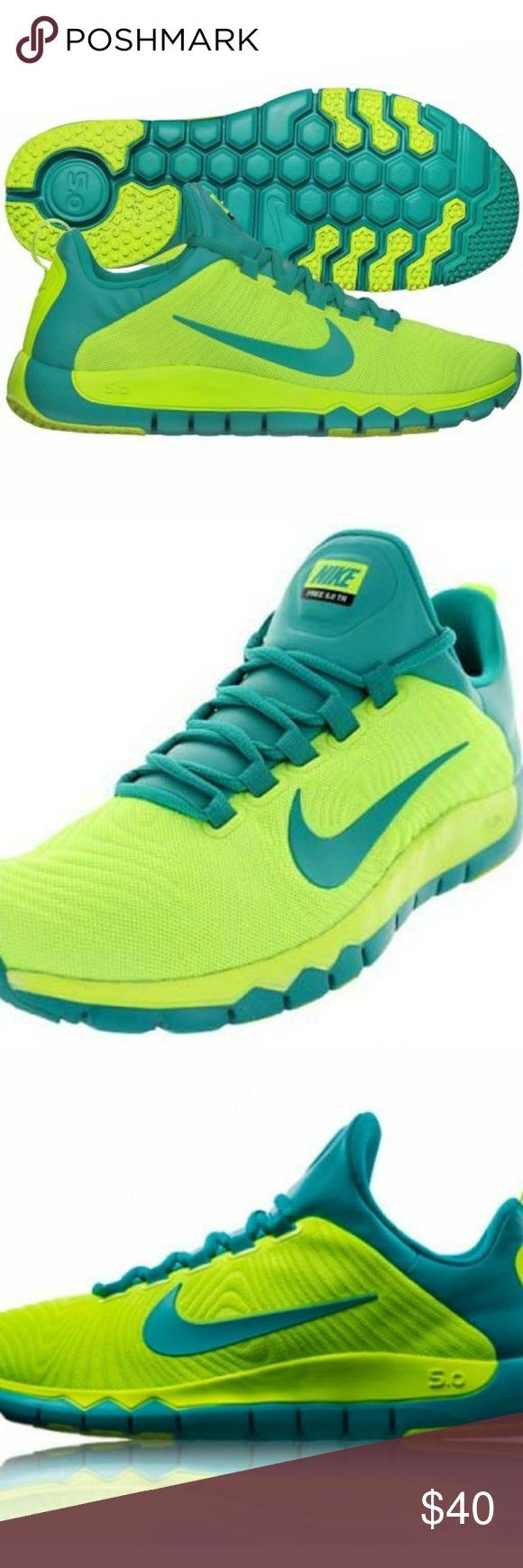 NIB NIKE FREE TRAINER 5.0 NIB. NWT. NIKE free trainer. Neon colors. Ultra lightweight. Nike Shoes Athletic Shoes