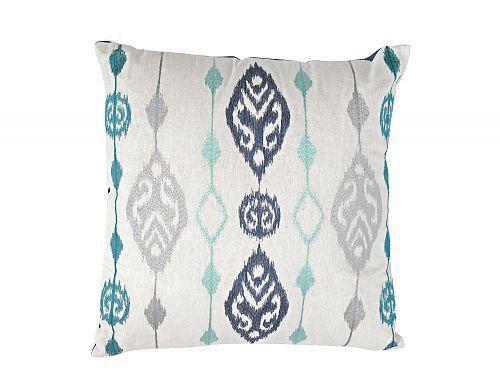 White/Blue C-8417 Cushion