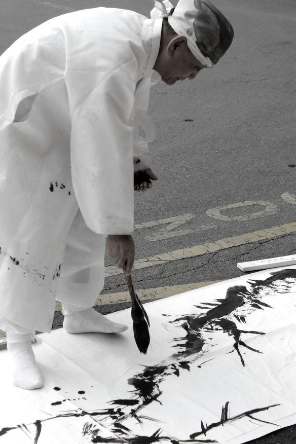 korean calligraphy master Park Jong-Hoi