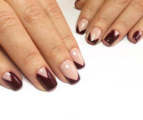 Beautiful nails 2016, Easy nail designs, Evening french manicure, Exquisite nails, Rich nails, Romantic nails, Shellac nails 2016, Spectacular nails