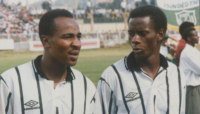 Dumisa Ngobe and Helman Mkhalele, Orlando Pirates
