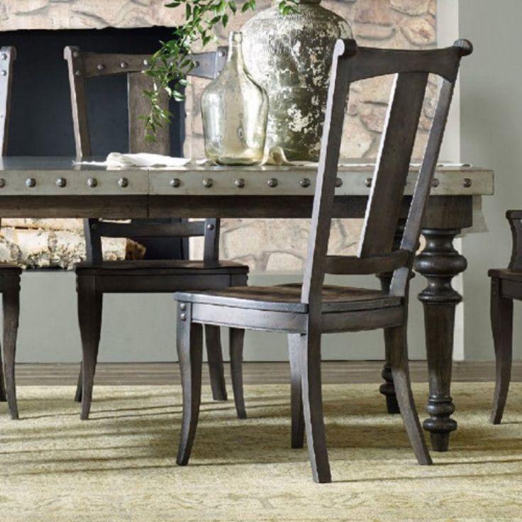 vintage hooker furniture desk. Hooker Furniture Vintage West Splatback Side Chair - 5700-75310 Desk M