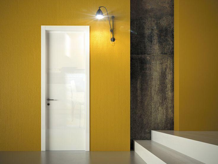 FBP porte | Collezione DEA - Art.40 - Colore: laccata brillante bianca #fbp #porte #legno #laccata #door #wood #varnish
