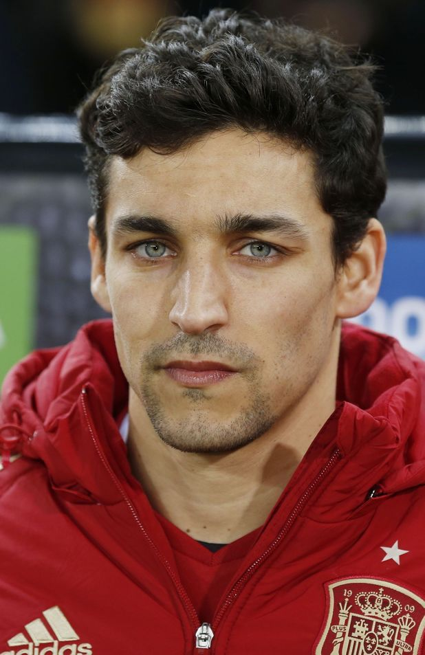Blue-eyed sweet Jesus Navas plays for national team Spain and Manchester City as a right winger. Description from digitalspy.com. I searched for this on bing.com/images