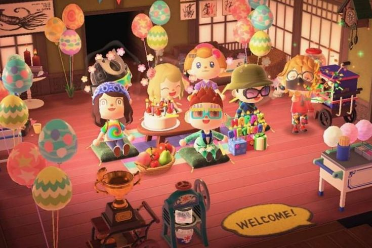 Animal crossing birthday party acnh fans best gift