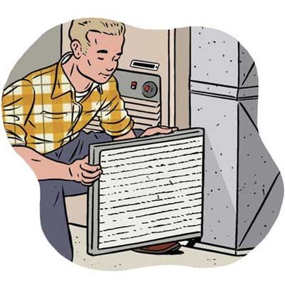how to clean aircon filter window type