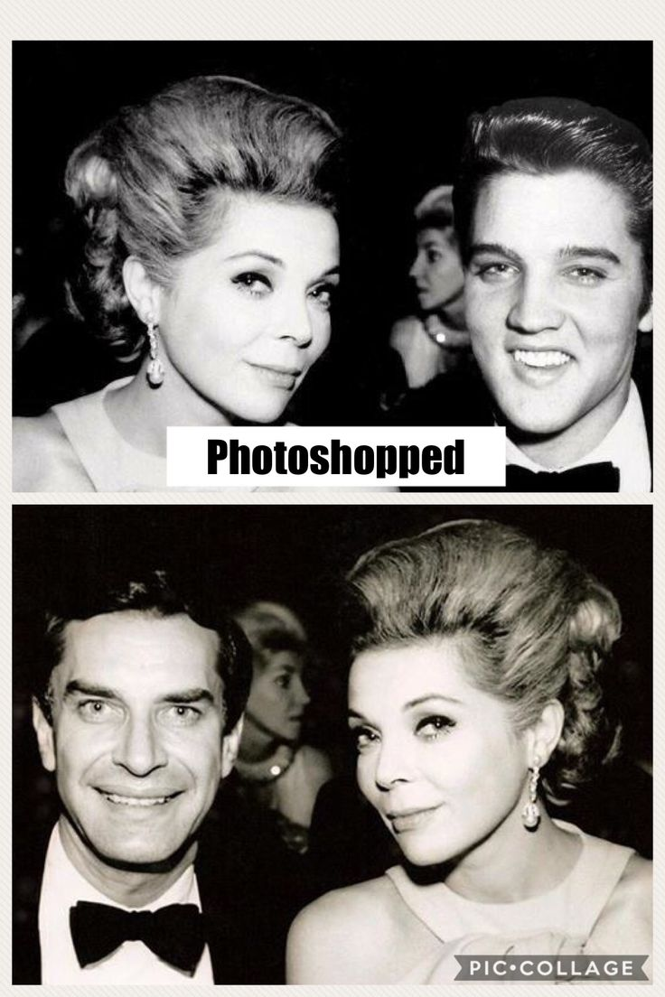 barbara bain who is from chicago il by the way and her husband martin landau which was taken in 1968 the photoshopped picture using elvis head is