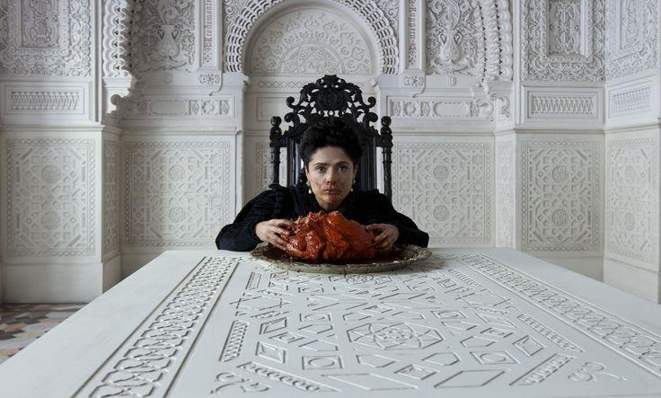 """""""Tale of Tales"""" movie still, 2015.  Salma Hayek as the Queen of Longtrellis."""